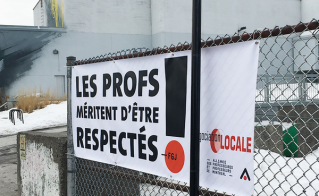 À l'école Louis-Joseph-Papineau.