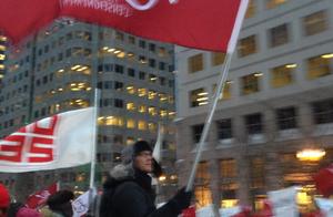Darren Ell du Centre Pauline-Julien a hissé haut le drapeau de la FAE.