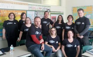 Solidarité totale à l'école Saint-Émile.