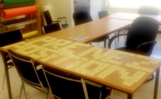 Les post-its ont sept vies à l'école Lucille-Teasdale.