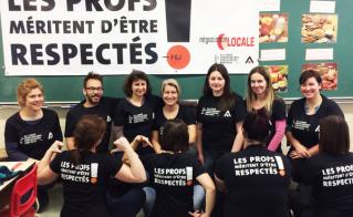 Le respect: 5e groupe alimentaire de l'équipe-école Saint-Enfant-Jésus.