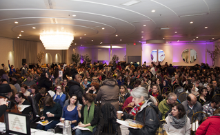 Plus de 900 membres ont participé à cette réunion d'instance tenue au Centre Antique.