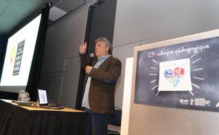 Le Docteur Jean-François Chicoine a présenté sa conférence «Trajectoire d'enfance, lien d'attachement, survie et vie scolaire» devant une salle comble.