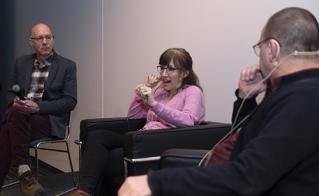 Animée par notre ancien collègue René Nault, la table ronde avec Stéphanie Demers, professeure en sciences de l'éducation à l'UQO, et Jean-Noël Grenier, professeur de relations industrielles de l'Université Laval, à propos des combats à mener pour protéger l'école publique a trouvé écho parmi les membres de l'Alliance.