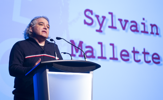 Le président de la FAE, Sylvain Malette, a salué les membres de l'Alliance.