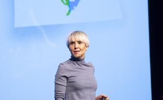 Pénélope McQuade a animé la plénière d'ouverture du 23e colloque.