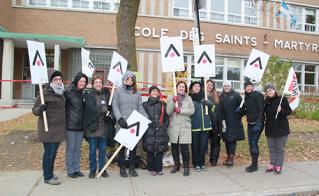 École Saints-Martyrs-Canadiens  © Elaine Bertrand